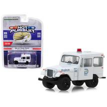 1977 Jeep DJ-5 Dallas, Texas Police Hot Pursuit Series 29 1/64 Diecast M... - $16.54