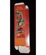 Jurassic Park Raptor Bites Cherry Jawbreakers Candy Box 1992 - $16.99