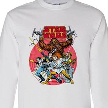 Star Wars Comics Long Sleeve T-shirt retro 1970's Marvel Comics cotton tee image 2