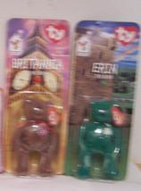 Beanie Babies Disney McDonald's Int. Bears II Erin Britannia 1999 Boys G... - $12.86