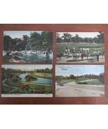 Antique Postcards of Cleveland, Ohio Park Views - Euclid Beach, Brookside, etc. - £9.44 GBP