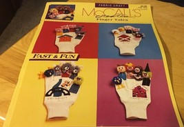 McCall's Creates Finger Tales (Fabric Craft #14029) 1991 6 pgs CG139 - $2.99