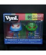 Funko DC Super Heroes Vynl Darkseid & Martian Manhunter Figure 2 Pack - $19.79
