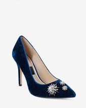 NEW! $165 - White House Black Market Olivia Velvet Pumps Shoes Size 7.5
