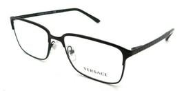 Versace Rx Eyeglasses Frames VE 1232 1261 54-16-140 Matte Black Made in ... - $176.40