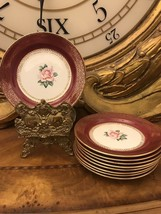 Set of 9 Vtg Homer Laughlin Lady Stratford Bread/Butter Plates E52N8 1952  G1 - $74.25