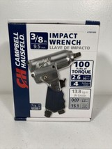 """Campbell Hausfeld 3/8"""" Impact Wrench (AT001000) Used Air Compressor Tool NEW - $24.70"""