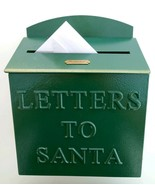 New HEARTH and HAND with Magnolia Large Green Metal LETTERS TO SANTA Mai... - $82.28