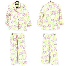 Victoria's Secret Femmes TAILLE XS Set Pyjama Citron Impression Fruit - $38.85