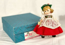 "Madame Alexander Switzerland 594 with Original Box 8"" Inches  - $24.60"