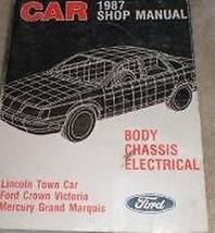 1987 Ford Krone Victoria Service Shop Reparatur Manuell Body Chassis Ele... - $13.81