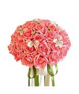 Kylin Express Beautiful Bridal Wedding Bouquet Artificial Flowers Korean... - $29.86