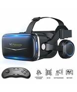 Vr Headset with Remote Controller, 3D Glasses Virtual Reality Headset - $93.41