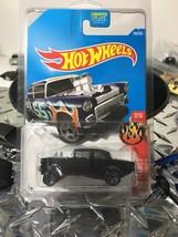 BLACK AMERICAN GRAFFITI Hot Wheels 2017 55 Chevy Bel Air Gasser CUSTOM ... - €10,71 EUR