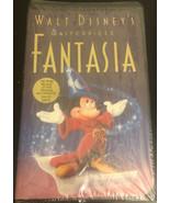 Walt Disney's Fantasia Masterpiece VHS 1991 Christmas Lead 1991. RARE SE... - $395.01