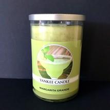Yankee Candle Margarita Grande 2-Wick Tumbler Large Jar Scented 20 oz - $24.74