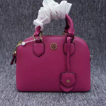 NWT Tory Burch Robinson Pebbled Leather Dome Satchel - $292.00