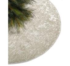 Holiday Lane Crushed Velvet Silver Tree Skirt - $47.90