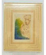 Vintage Male Female Depression Watercolor Diagnosis 1970s Diagnosis Bipolar - $25.73
