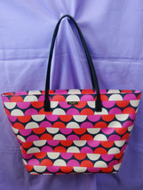 Kate Spade Designer Shore Street Margareta Vivid Snapdragon Tote Bag WKRU4046 - $321.00