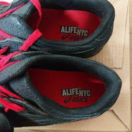 Alife X Asics Gel-Lyte III Schwarz Lagoo Monster Packung Sneakers US 10.5