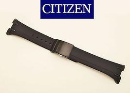 Citizen Skyhawk Original BLACK Rubber Watch Band Strap JR3155-03E 25MM - $89.95