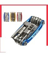 Bike Multi Repair Tools Cycling Hex Spoke Wrench Screwdriver 10 In 1 Kit... - $21.40 CAD+
