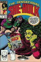Marvel THE SENSATIONAL SHE-HULK #2 VF - $0.99
