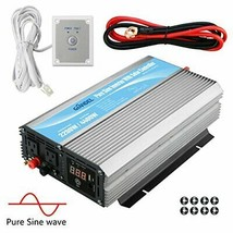 Giandel 2200W Pure Sine Wave Power Inverter 12V DC to 120V AC with 20A S... - $379.06