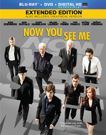 Now You See Me (Blu Ray/DVD/Ultraviolet/Dc)