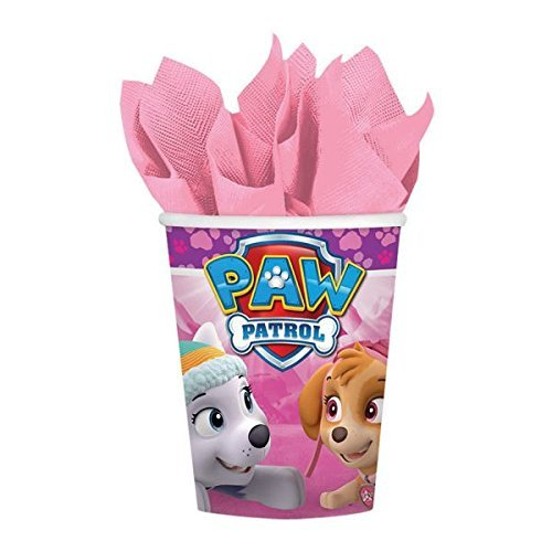 amscan Cups | Paw Patrol Girl Collection | Party Accessory