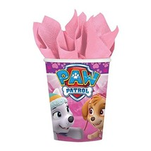 Amscan Cups | Paw Patrol Girl Collection | Party Accessory - $7.82