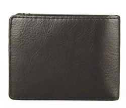 NEW LEVI'S MEN'S PREMIUM LEATHER CREDIT CARD ID WALLET BILLFOLD BLACK 31LV13C7 image 5