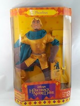 "Rare Disney Hunchback of Notre Dame PHOEBUS 12"" Doll Mattel 1995 NEW In Seal Box - $59.39"