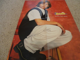 Jonathan Taylor Thomas Scott Wolf teen magazine poster clipping squatting chair
