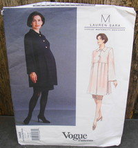 Vogue 1465 Lauren Sara Maternity Skirt Top Pattern 6-8-10* - $20.00