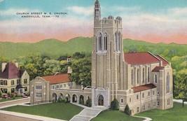 Church Street M. E.  Church Knoxville Tennessee TN Postcard A18 - $2.99