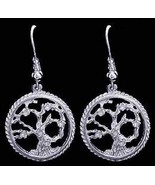 SALE New Genuine Sterling Silver .925 Celtic Family Tree of Life  Earrin... - $26.66