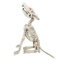 2.5 ft Animated LED Howling Skeleton Wolf - $71.71