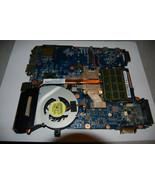 Toshiba Satellite L645D-S4056 mb wih AMD cpu,4Gb ram, fan and heat sink - $54.45