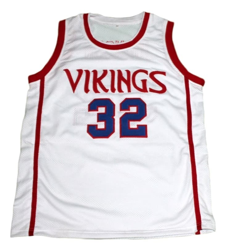 Magic Johnson #32 Vikings High School New Men Basketball Jersey White Any Size