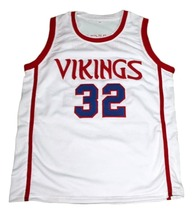 Magic Johnson #32 Vikings High School New Men Basketball Jersey White Any Size image 1