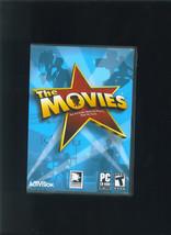 THE MOVIES PC Game 2005 Activision Hollywood Simulator Run Studio Make S... - $8.99