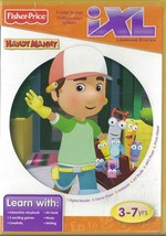 Fisher Price iXL Learning System Handy Manny Ages 3-7 6 ways to Play - $4.15