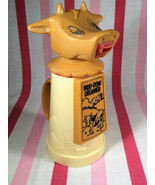 Kitschy 1960s Moo Cow Creamer Plastic Pitcher Whirley Industries Mouth P... - $10.00
