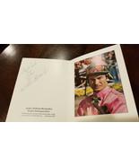 1976 WILLIE SHOEMAKER SIGNED AUTO SANTA ANITA BOOKLET HORSE RACING JOCKE... - $100.99