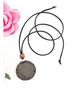 Amulet Necklace with Prayer - Handmade Sealed Pouch Pendant with Prayer ... - $17.99