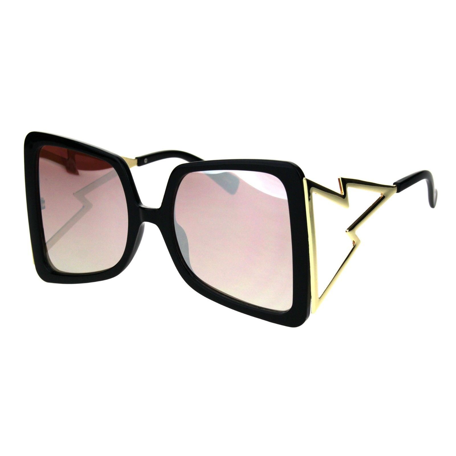 Super Oversized Square Sunglasses Womens Glamour Fashion Shades UV 400
