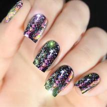 BAHYHAQ - Nail Powder Neon Mirror glitter Mirror Effect Rainbow Crystal ... - $2.88