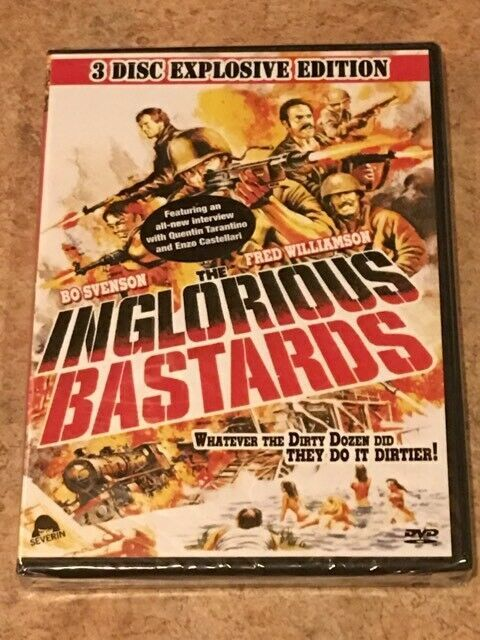 Primary image for Inglorious Bastards (DVD, 3-Disc Explosive Edition, 1978) NEW/SEALED *RARE OOP*